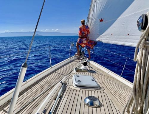 Slow Down: Segeln von Patmos über Fourni in Richtung Türkei!