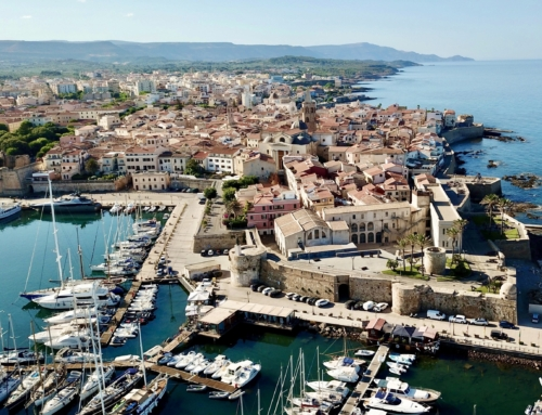 Alghero: A walk on the ramparts at sunset is worth the whole trip to Sardinia